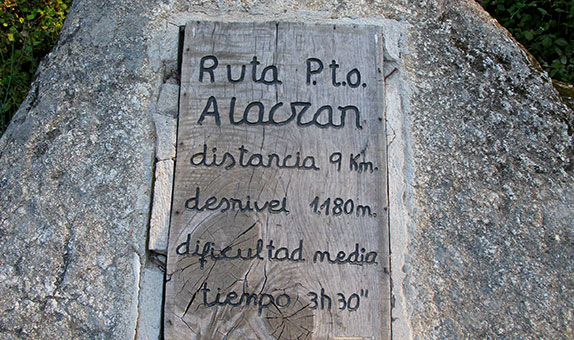 ruta Puerto Alacrán