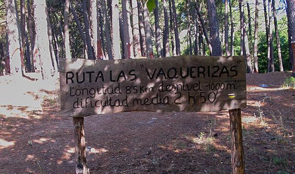 ruta Las Vaquerizas
